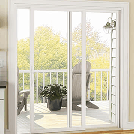 vinyl sliding glass doors