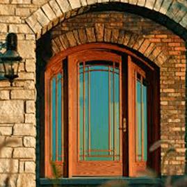 Wood Entranceway