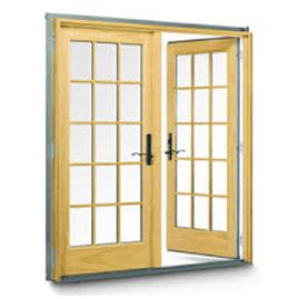 Wood Garden Door
